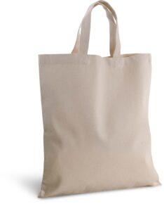 Canvas Segeltuch Tasche kurze Henkel Produktbild