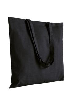 Canvas Jutebeutel in schwarz Produktbild