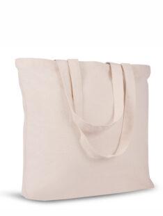 Canvas Tasche Querformat Bodenfalte Produktbild