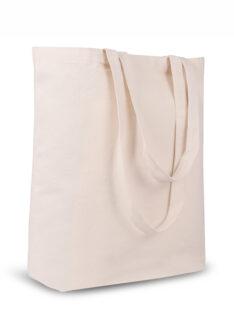 Canvas Tasche mit Bodenfalte Produktbild