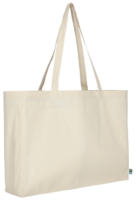 Fairtrade Baumwolle Shopper quer