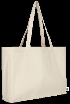 Fairtrade Baumwolle Shopper quer Produktbild