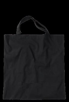 Jutebeutel groß schwarz Produktbild