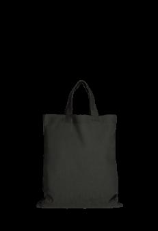 Jutebeutel klein schwarz Produktbild
